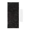 Klarstein Royal Flush 60 aktív szén filter, szénszűrő, 37,5x16,7 cm