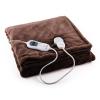 Klarstein Sherlock M melegítő takaró, 120W, mosható, 150x100cm, mikroplüss, barna