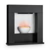 Klarstein Studio-8 elektromos kandalló, 2000 W, LED láng, 40m², MDF, fekete