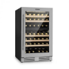 Klarstein Vinovilla Duo79, kétzónás borhűtő, 189 l, 79 palack, 3-rétegű üvegajtó