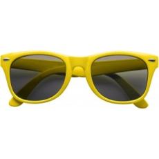 Klasszikus napszemüveg, sárga