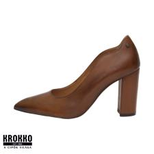 KLEER 2226-30 barna alkalmi körömcipő női cipő