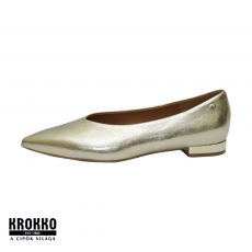 KLEER 2303-65 Arany félcipő