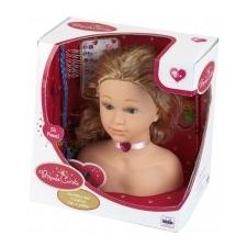 Klein Fésülhető babafej kiegészítőkkel baba
