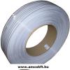 Klipsz szalag, Fehér, 600m, 0,6 mm, dupla acéldrót erősítéssel (1528)