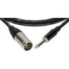 Klotz XLR-JACK kábel, 3 m – Klotz XLR3M - JACK2 csatlakozók + MY 206 fekete kábel