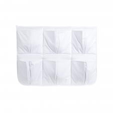 Klups zsebes tároló - Fehér dekoráció