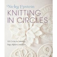 Knitting In Circles – Nicky Epstein idegen nyelvű könyv