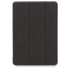 """Knomo iPad 9.7"""" Tri-Fold bőr tok fekete"""