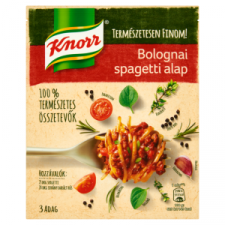 Knorr bolognai spagetti alap 43 g alapvető élelmiszer