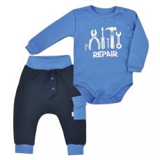 KOALA 2-részes baba együttes Koala Repair blue