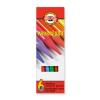 KOH-I-NOOR Progresso 8755/6 színes ceruza készlet, famentes, 6 szín