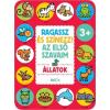 Kolibri Kiadó Ragassz és színezz! Az első szavaim - Állatok