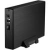 Kolink 3.5˝ HDD ház, USB 3.0, Fekete
