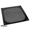 Kolink ffm-120-b 12cm fekete ventilátor rács