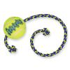 KONG SqueakAir Ball kötéllel kutyajáték 2x M/L méret