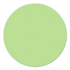 Kör moderációs kártya, 14 cm, zöld