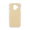KORACELL Csillogós szilikon tok, Samsung A600 Galaxy A6 (2018), arany, SHINING