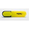 KORES 0,5-5 mm sárga szövegkiemelő