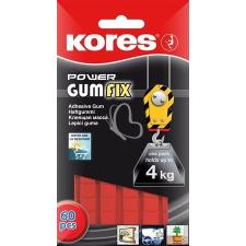 """KORES Gyurmaragasztó, 60 kocka/csomag, extra erős, KORES """"Power Gumfix"""" ragasztó"""