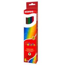 KORES HEXAGONAL színes ceruza, hatszögletű, 12 db/doboz színes ceruza