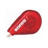 KORES Hibajavító roller, 4,2 mm x 15 m, KORES Roll On, piros