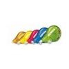 KORES Hibajavító roller, 4,2 mm x 8 m, KORES Scooter, vegyes színek