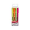 KORES Szövegkiemelõ készlet, 0,5-3,5 mm, KORES, 4 különbözõ szín