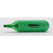 KORES Szövegkiemelő, 1-5 mm, KORES, zöld filctoll, marker