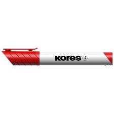 """KORES Tábla- és flipchart marker, 1-3 mm, kúpos, KORES """"K-Marker"""", piros filctoll, marker"""