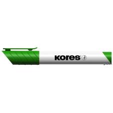 """KORES Tábla- és flipchart marker, 1-3 mm, kúpos, KORES """"K-Marker"""", zöld filctoll, marker"""