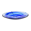 Kosta Boda CONTRAST BLUE DISH D 380MM