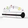 KR-8800 sztereó Bluetooth hangszóró FM rádióval és NFC-vel, fehér