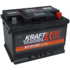 Kraftamann 12V 55Ah jobb+ autó akkumulátor