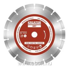 Kreator gyémánt vágótárcsa 230 mm ECO 3db KRT080102 csiszolókorong és vágókorong