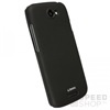 KRUSELL ColorCover fekete hátlap tok HTC One S