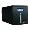KSTAR Microsine 1000VA USB, LCD - Line-interaktiv szinuszos Szünetmentes táp
