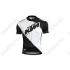 KTM Factory Line rövid ujjú kerékpáros mez fehér/fekete XL-es