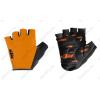 KTM Factory Team rövid ujjú kesztyű zselés betéttel, narancs XXL-es