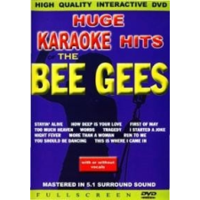 KÜLFÖLDI KARAOKE - Huge Karaoke Bee Gees DVD zene és musical