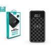 Külső akkumulátor, 8000 mAh, Okostelefonhoz és TabletPC-hez, Qi Wireless, 2 x USB aljzat, Devia Ju, fekete