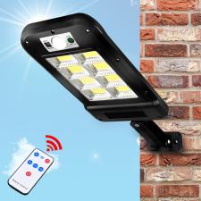 Kültéri mozgásérzékelős lámpa, napelemes, 120W kültéri világítás