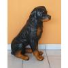 Kutya-Rottweiler-ülő/64cm