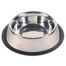 Kutyatál rozsdamentes acélból 13 cm kutyatál