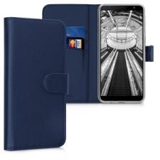 kwmobile Samsung Galaxy J4+ flip tok - kék tok és táska