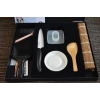 Kyocera Sushi Starter Set, 11cm kerámiapengés késsel (FK110WH,CSN-202BK,CY10)