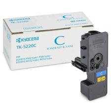 Kyocera TK5220C Lézertoner P5021cdn, P5021cdw, M5521cdn, M5521cdw nyomtatókhoz, KYOCERA kék 1,2k nyomtatópatron & toner