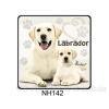 Labrador kutyás hűtőmágnes