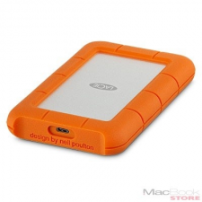 LaCie 1TB Rugged USB-C - Silver/Orange merevlemez