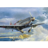 LaGG-3 series 1,5,11 repülő makett Roden 037
